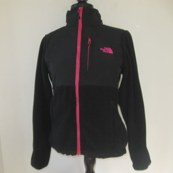 good north face black pink jacket 93dd7 9c386